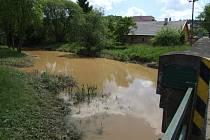 Druhý stupeň povodňové aktivity.