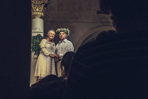 Představení Anastasia.