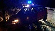 Nehoda dvou osobních aut.
