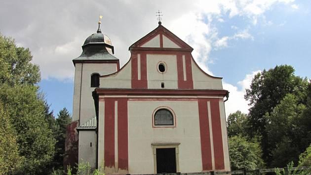 Kostel Sv. Víta.
