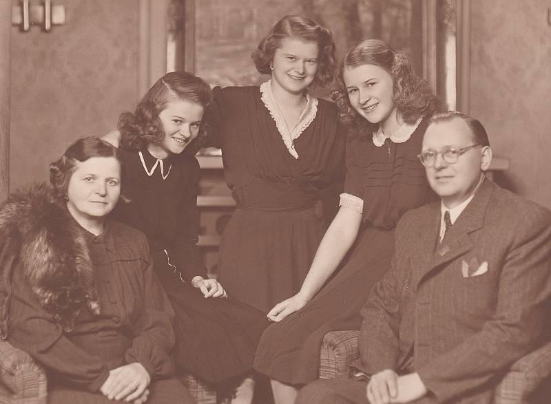 Rodina Muchových.
