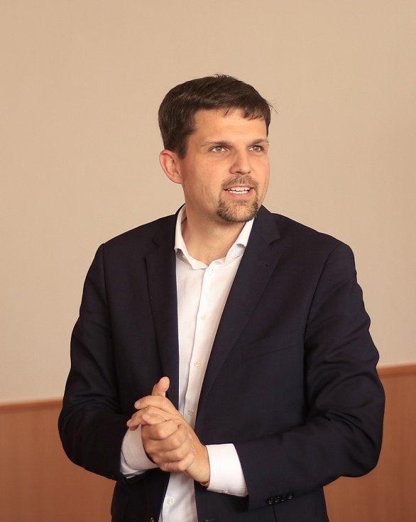 Petr Hladík, první náměstek primátorky města Brna.