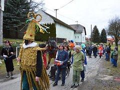 Ve Zboží se v úterý, před Popeleční středou, konal průvod masek již popáté.