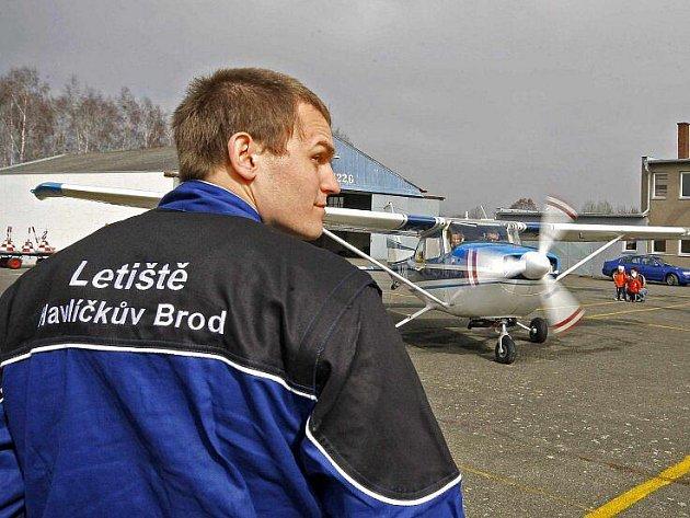 V pátek dopoledne se areál havlíčkobrodského letiště otevřel všem mezinárodním letům.