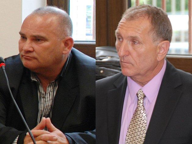 Pavel PARDUS (vlevo), Vladimír VOVES (vpravo).