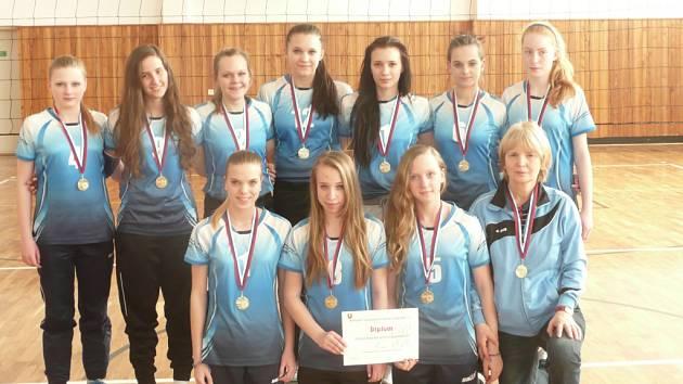 Mládežnické volejbalové týmy Světlé byly v soutěži úspěšné.