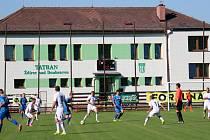 Fotbalové hřiště ve Ždírci nad Doubravou.