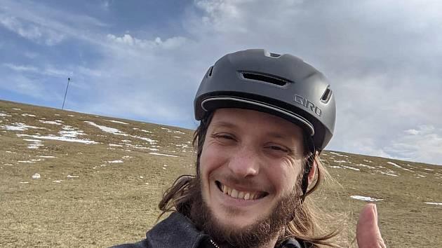 Michal Schnabl se vydá na skládacím kole přes Německo.