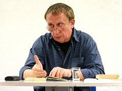 Spisovatel Ivan Kraus.