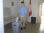 V Žižkově Poli o eurovolby velký zájem nebyl.