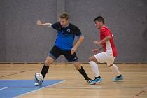 Futsalové utkání mezi FK Boca Chotěboř a TJ Turnov.