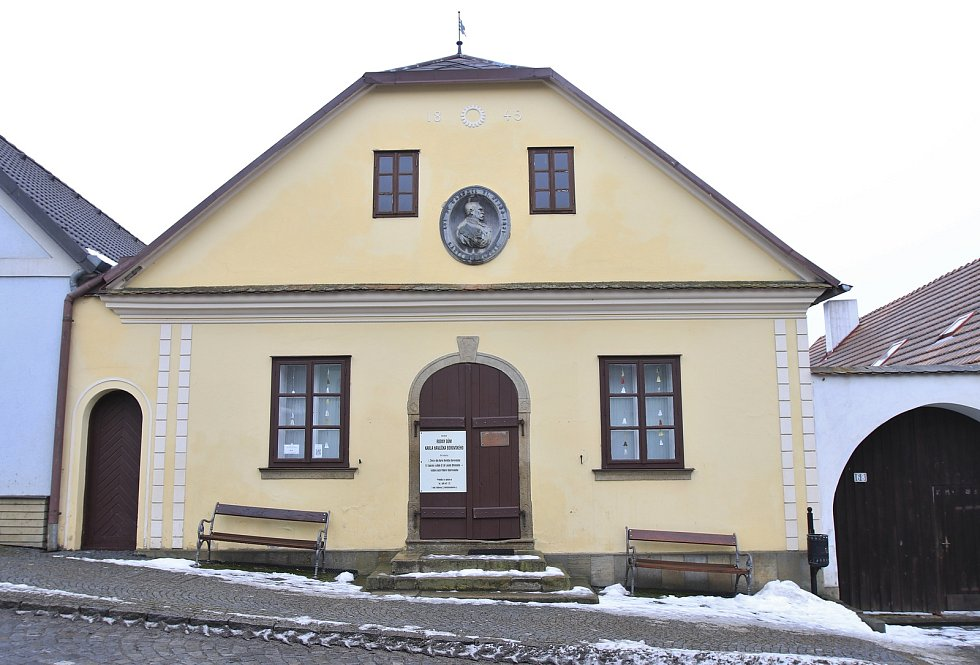 Rodný dům Karla Havlíčka Borovského v Havlíčkově Borové.