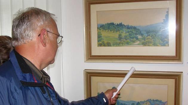 Návštěvníci pouti se mohou těšit i na kresby Adolfa Kašpara. Ilustrační foto.