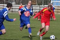 Osm bodů ztratili přibyslavští fotbalisté v boji o postup do krajského přeboru v posledních třech zápasech.