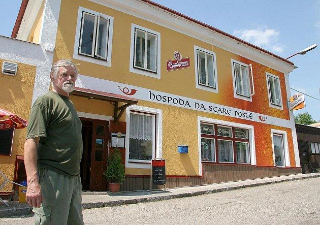 Restauratér Kotěra a jeho podnik v Okrouhlici