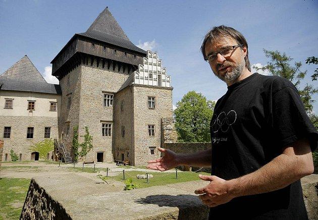 Kastelán lipnického hradu Marek Hanzlík