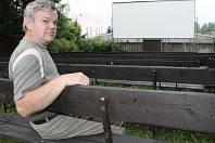 Letní kino Krucemburku.