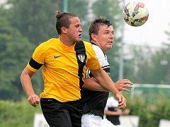 Fotbalisté Chotěboře porazili favorizovaný Pelhřimov a postoupili do 1. kola MOL cupu.