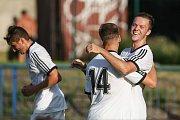 Utkání 1. kola - Fortuna MSD, Skupiny D mezi FC Slovan Havlíčkův Brod a TJ Sokol Tasovice.