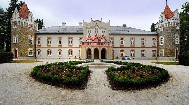 Hotel Chateau Herálec. Ilustrační foto.