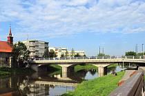 Most u kostela sv. Kateřiny.