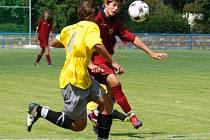 Štěstí chybělo mladším dorostencům brodského Slovanu, když se jim v Líšni podařilo pouze vyrovnat na 4:4.