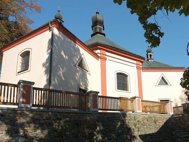 Kostel Nejsvětější trojice v Havlíčkově Brodě.