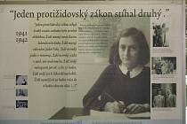 Výstava o Anně Frankové skončila v úterý ve věznici ve Světlé nad Sázavou.