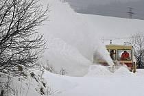Sněhová kalamita v pátek.