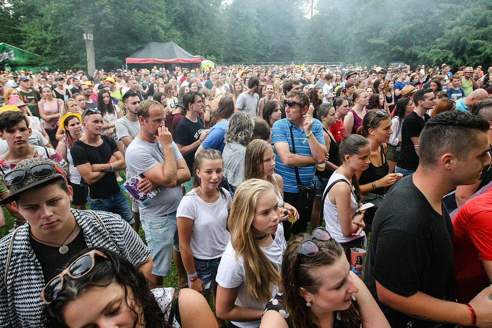 Hudební festival Sázavafest 2017.