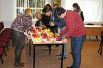 Odborná porota hodnotila jablka ze 30 odrůd.