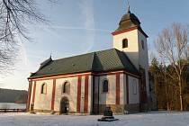 Historie kostela, který připomíná zaniklé městečko Zahrádka, sahá do jedenáctého století.