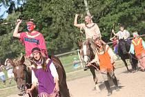 Na indiánskou stezku se ve středu vydali klienti brodské psychiatrické nemocnice s hiporehabilitačními koňmi. Pořadatelé také připravili pro děti a rodiče spoustu doprovodných akcí.
