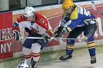 Bez ztráty. Brodští hokejoví junioři (ve světlém) zápasy se Žďárem i Orlovou zvládli.