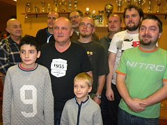 Účastníci Vánočního šachového turnaje v Rozsochatci.