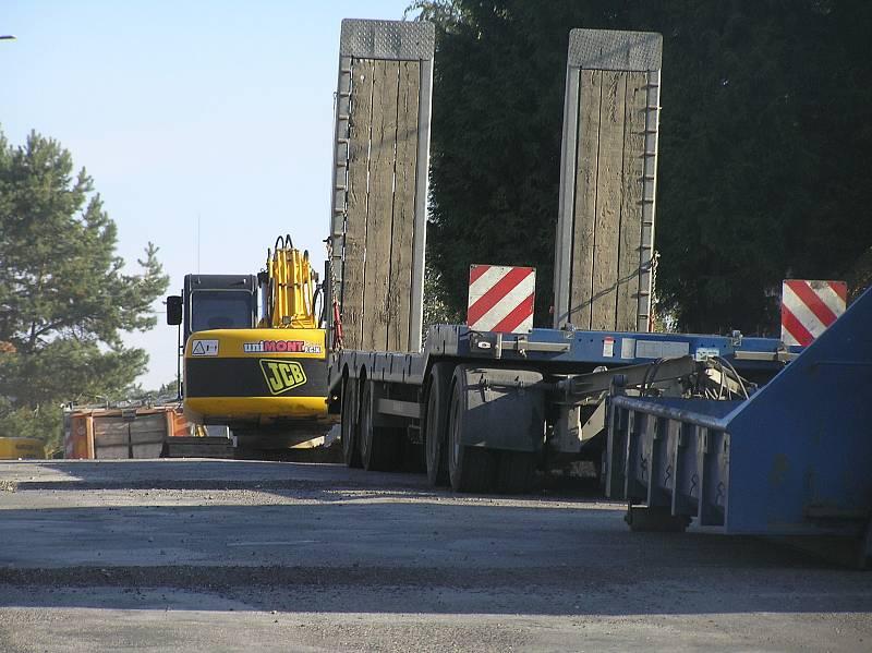 Stavební práce Kyjovská v Havlíčkově Brodě.