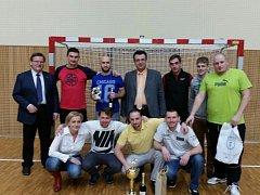 Vítězné chotěbořské družstvo.