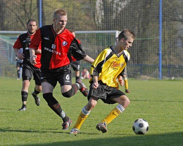 Z fotbalového utkání Havlíčkův Brod - Humpolec.