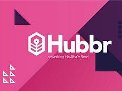 Logo coworkingového centra Hubbr v Havlíčkově Brodě.