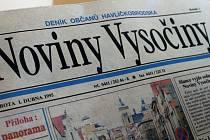 Před dvaceti lety, 1. dubna 1995, vyšel v okrese první regionální deník. Na tehdejší Noviny Vysočiny navázal dnešní Havlíčkobrodský deník.