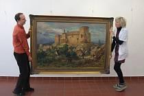 Velkolepá výstava zhruba stovky mistrových děl zabere kompletně celou budovu galerie. Velká část je věnována obrazům, zachycujícím Vysočinu.