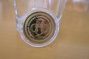 Tak nějak by měla vypadat přibyslavská mince z cyklostezky. Radní hledají nejlepší grafický návrh.