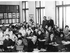 Historické fotografie z archivu ZŠ Přibyslav