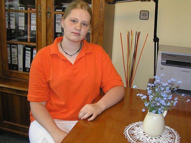 Dobrovolnice z Německa Silja Heitzer pracuje v domově pro seniory U Panských už rok.