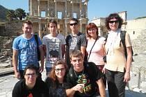 Studenti v Turecku.