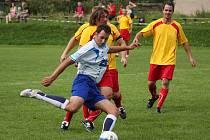 Domácí prostředí se povedlo prolomit pohledským fotbalistům v zápasech s Přibyslaví,  vloni vyhrávali hosté.