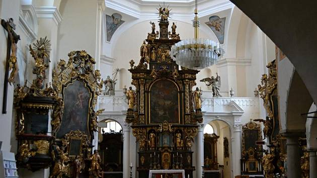 Děkanský kostel Nanebevzetí panny Marie v Havlíčkově Brodě.