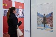 Výstava Zlomové osmičky v Galerii výtvarného umění v Havlíčkově Brodě.