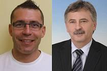 Petr Veselka (vlevo) a Ing. Čeněk Jůzl.