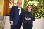 Nejlepší dobrovolnice pro letošní rok Veronika Křikavová.